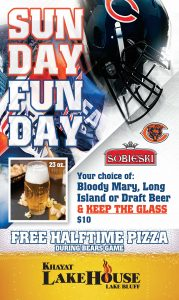 Chicago Bears Game Day Poster- LakeHouse Lake Bluff