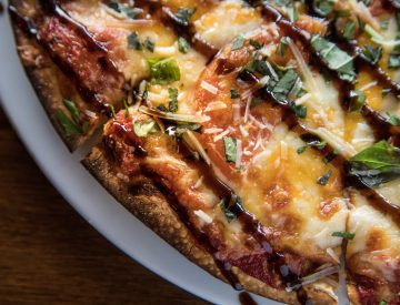 Four Cheese & Tomato Pizza