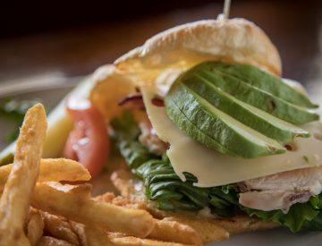 California Croissant Sandwich