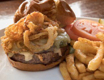 Roasted Jalapeño Burger