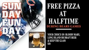 Chicago Bears Game Day- LakeHouse Restaurant