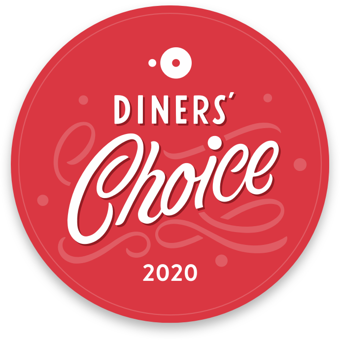 OpenTable Diners Choice Award Winner 2020